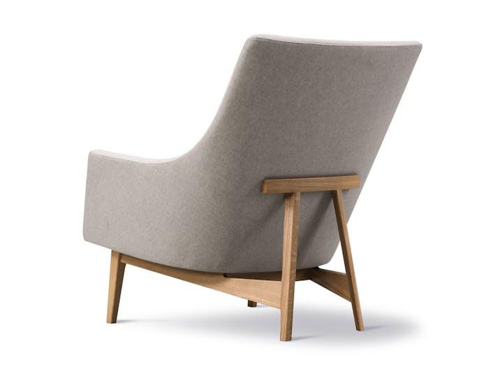Fredericia A Chair Wood Base Oak Sunniva Back Jens Risom