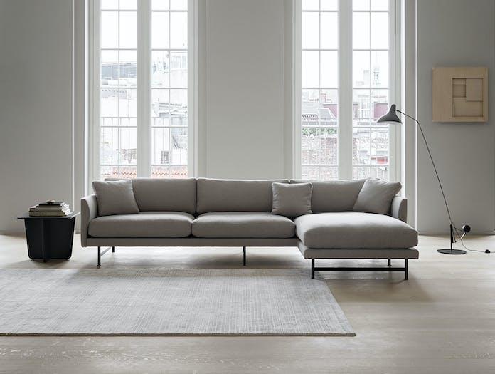 Fredericia Calmo Sofa With Chaise 3S Hugo Passos