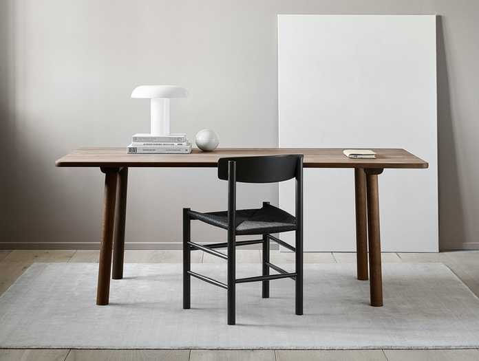Fredericia J39 The Peoples Chair Black Borge Mogensen