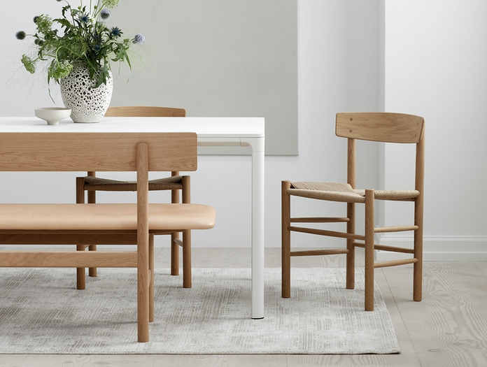 Fredericia J39 The Peoples Chair Oak Borge Mogensen