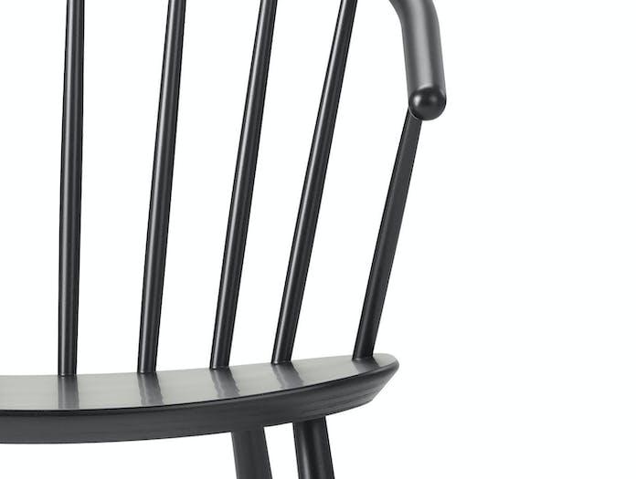 Fredericia Johansson J64 Chair Arm Detail Ejvind Johansson