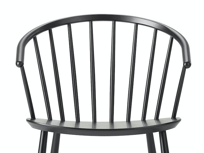 Fredericia Johansson J64 Chair Back Detail Ejvind Johansson