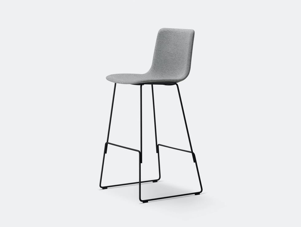 Pato Sledge Upholstered Barstool image
