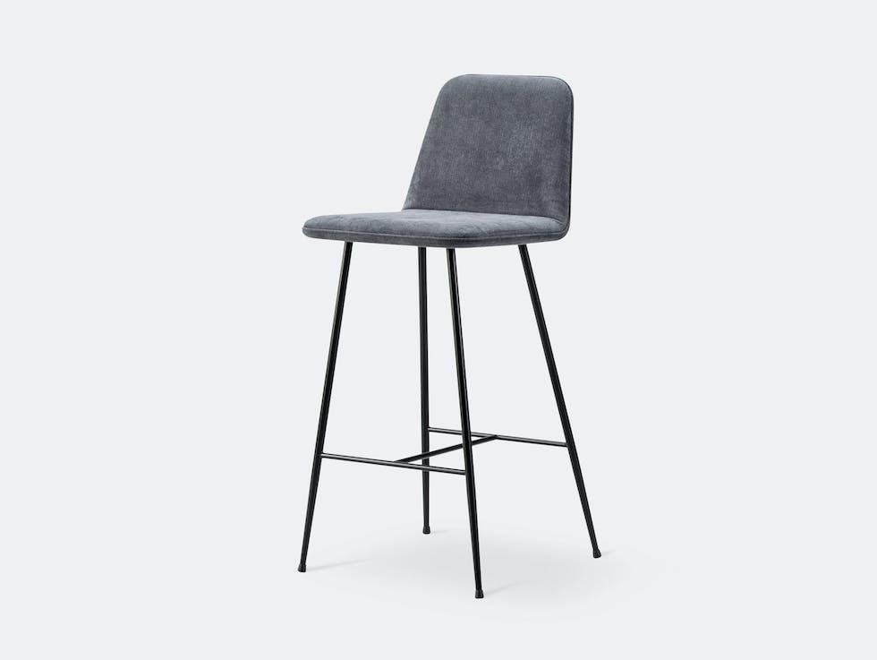 Spine Barstool Metal Base with Backrest image