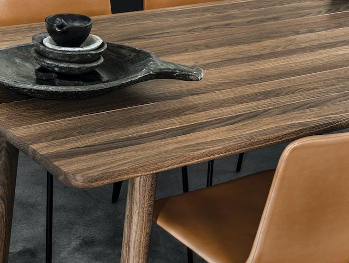 Fredericia Taro Table Smoked Oak Detail Jasper Morrison