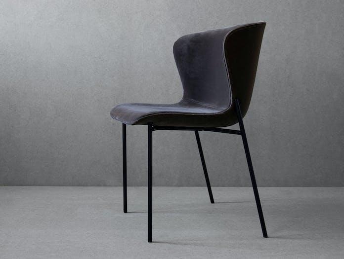 Friends Founders La Pipe Chair Velvet Ida Linea Hildebrand