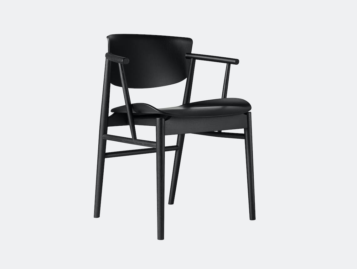 Fritz Hansen N01 Chair Black Oak Nendo