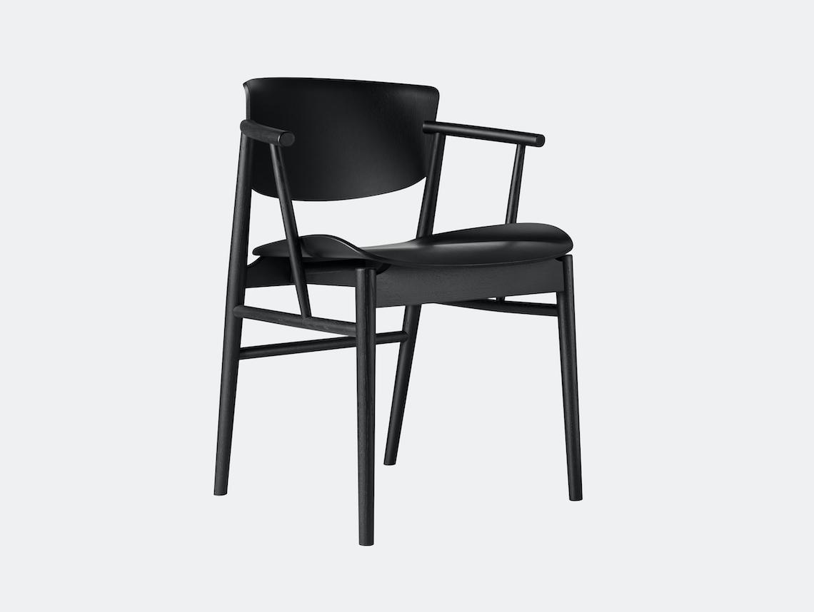 Fritz Hansen N01 Chair Black Oak Nendo