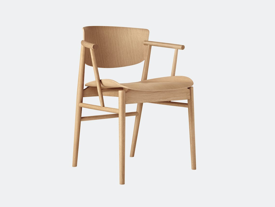 Fritz Hansen N01 Chair Oak Nendo