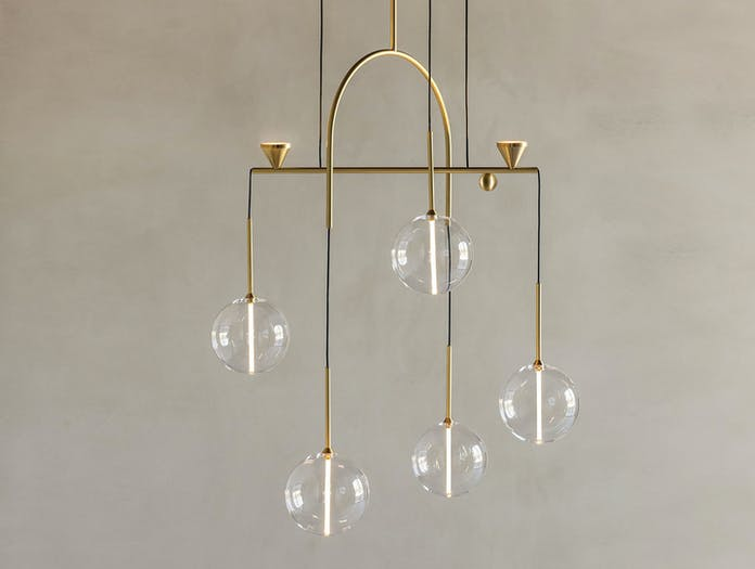Giopato And Coombes Dew Drops Chandelier 5 2