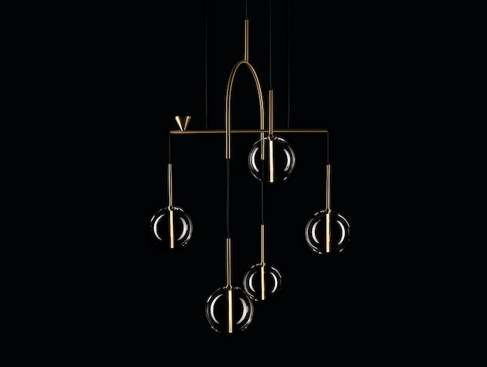 Giopato And Coombes Dew Drops Chandelier 5 B