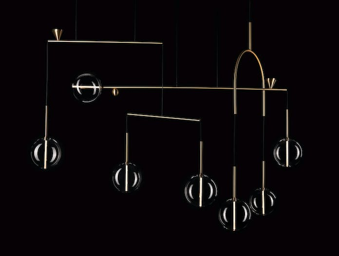 Giopato And Coombes Dew Drops Chandelier 7 B