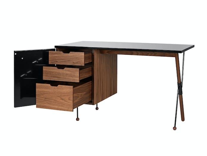 Gubi 62 Desk Drawers American Walnut