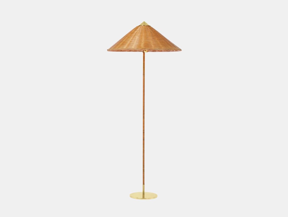Gubi 9602 Floor Lamp Wicker Paavo Tynell