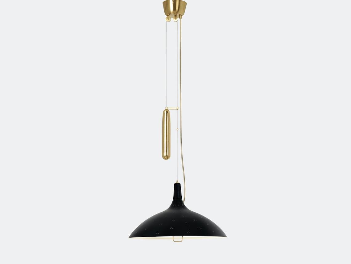 Gubi A1965 Pendant Light Black Paavo Tynell