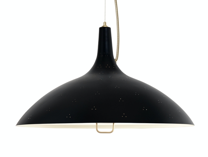 Gubi A1965 Pendant Light Black Detail Paavo Tynell