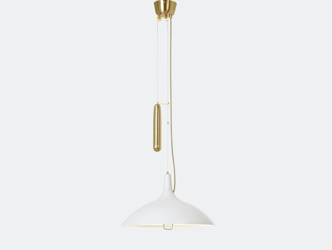 Gubi A1965 Pendant Light White Paavo Tynell