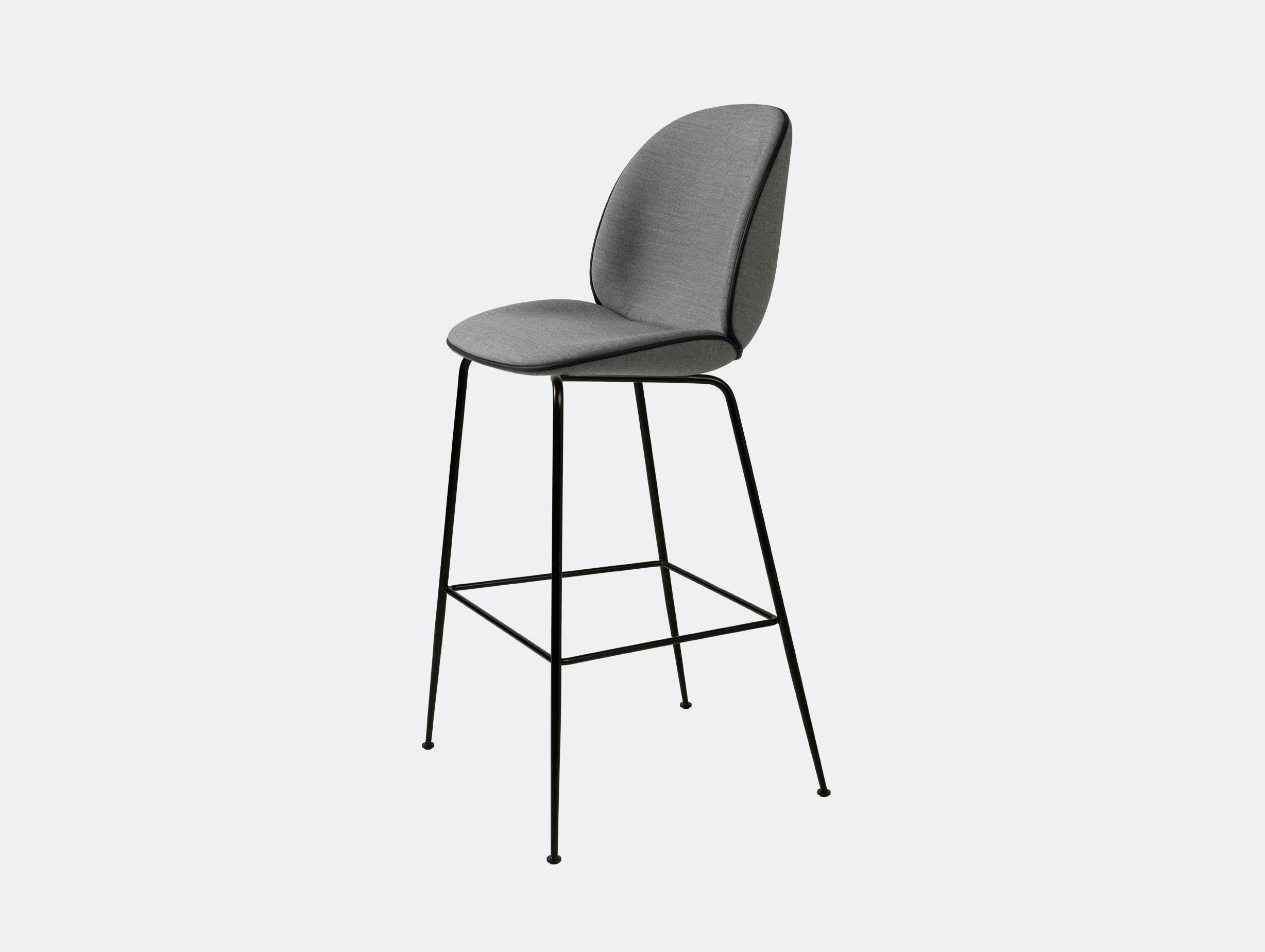 Gubi Beetle Upholstered Bar Stool Remix 143 Gam Fratesi