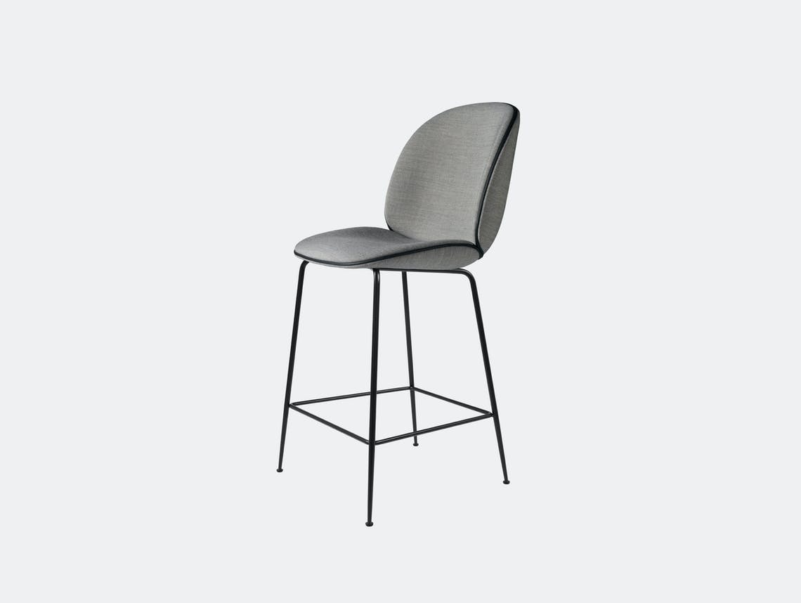 Gubi Beetle Upholstered Counter Stool Remix 143 Gam Fratesi