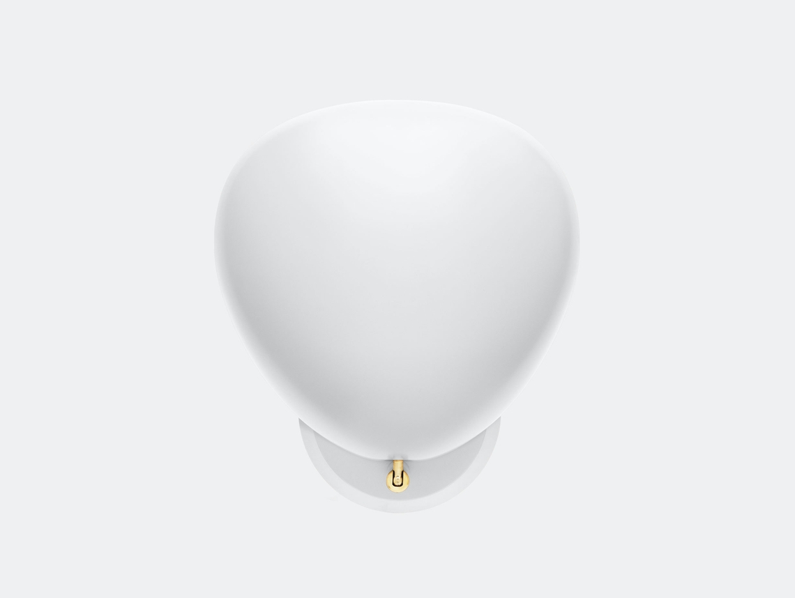 Gubi Cobra Wall Lamp White Greta Grossman