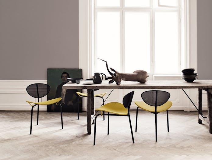 Gubi Nagasaki Dining Chairs Mathieu Mategot