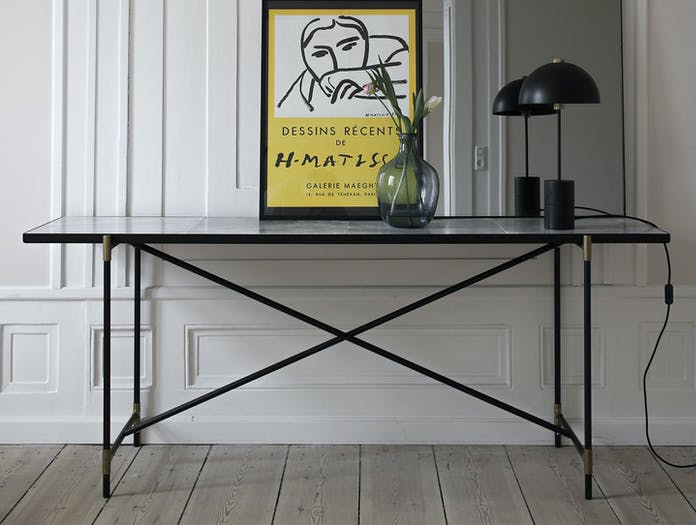Handvark Studio Table Lamp Black Brass 2 Laura Bilde