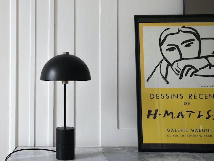 Handvark Studio Table Lamp Black Brass 3 Laura Bilde