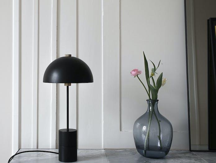 Handvark Studio Table Lamp Black Brass 4 Laura Bilde