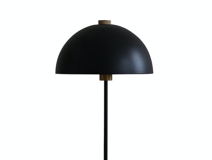 Handvark Studio Table Lamp Black Brass Detail Laura Bilde