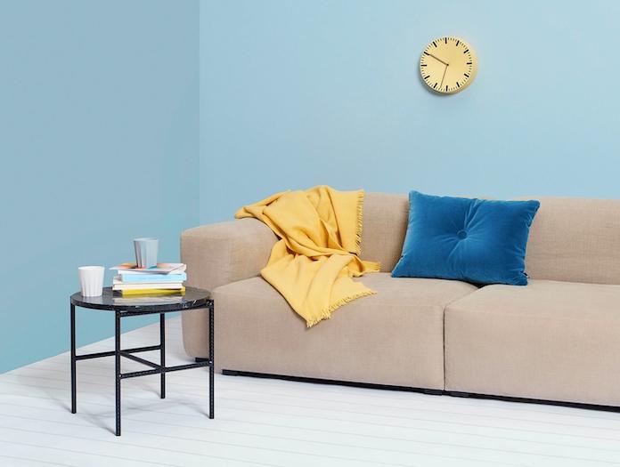 Hay Analog Mono Blanket Dot Cushion Soft Rebar Round W  Marble Iris Mug Notebooks Mags Soft Low Armrest