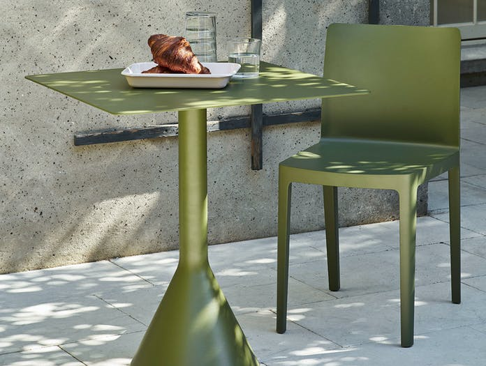 Hay Elementaire Chair Palissade Cone Table Outdoor