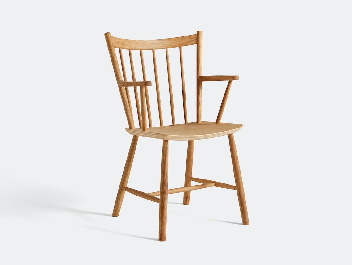 Hay J42 Oiled Oak Chair