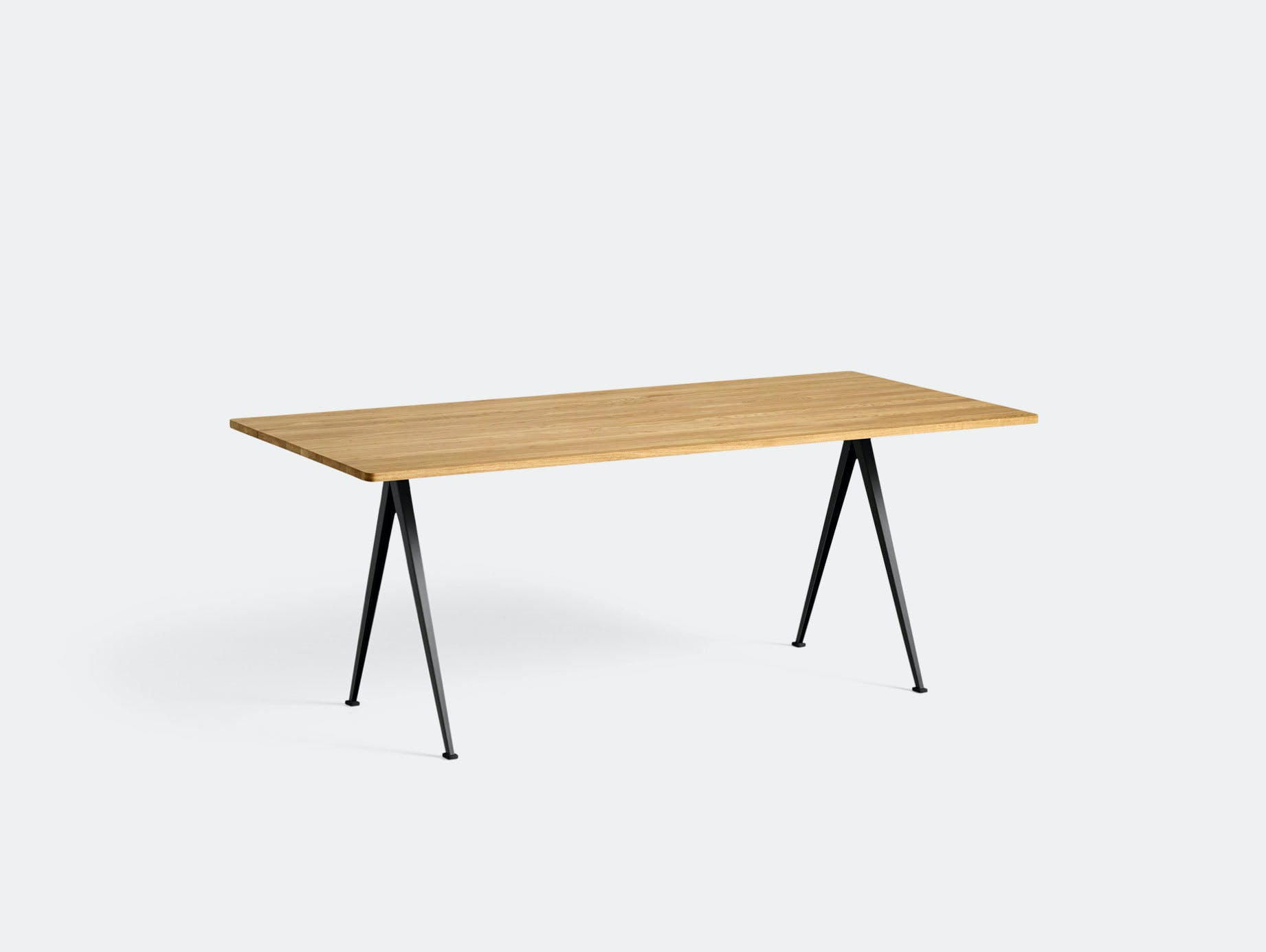 Hay Pyramid Table 02 Oak Black L190 Wim Rietveld Friso Kramer