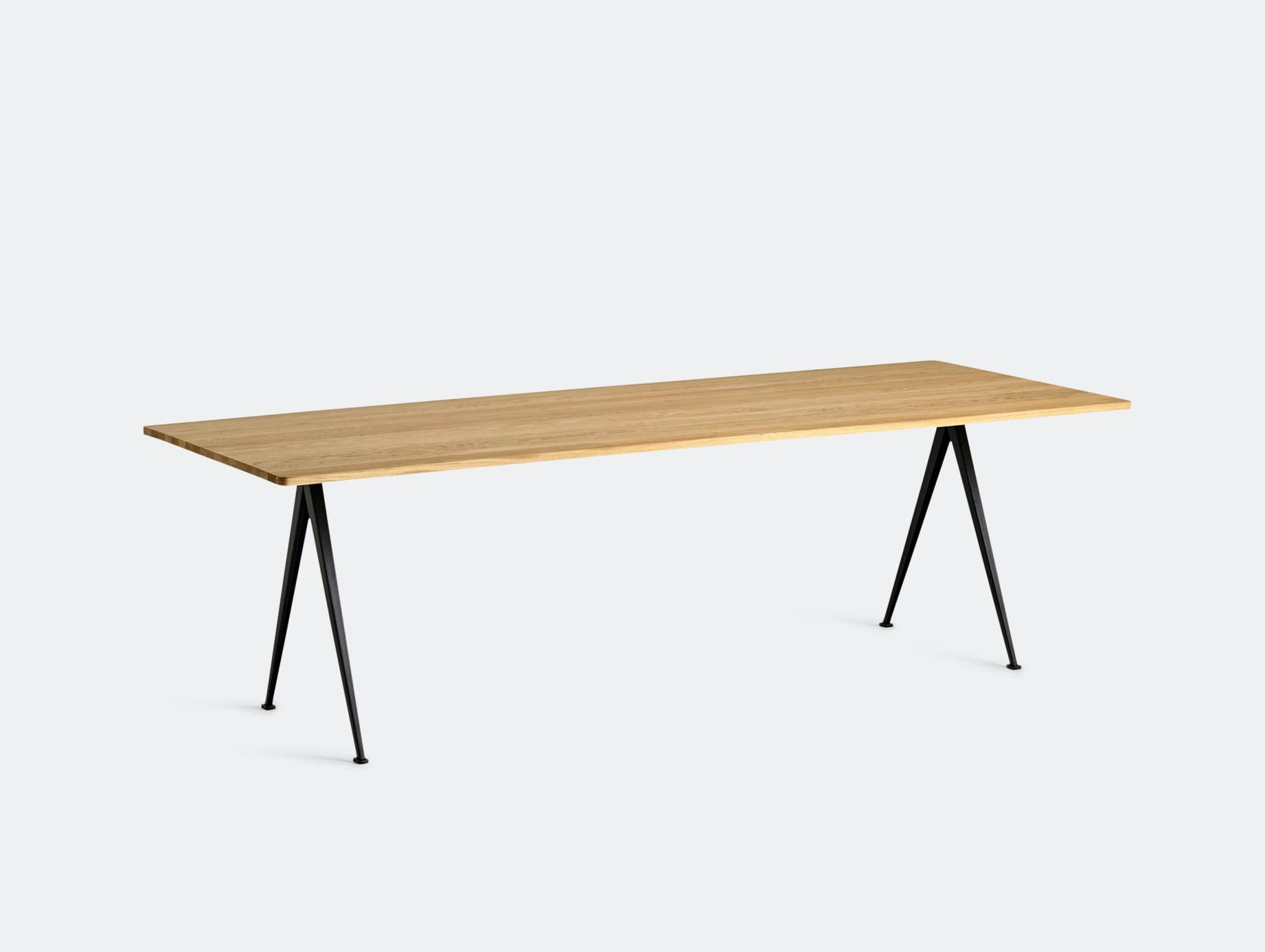 Hay Pyramid Table 02 Oak Black L250 Wim Rietveld Friso Kramer