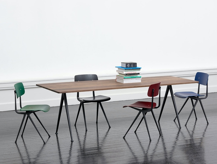Hay Pyramid Table Result Chairs Wim Rietveld Friso Kramer