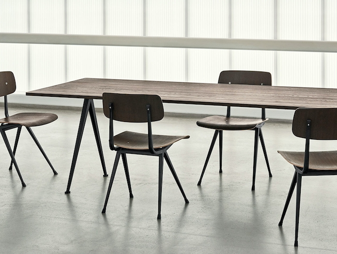 Hay Pyramid Table Result Chairs W Wim Rietveld Friso Kramer