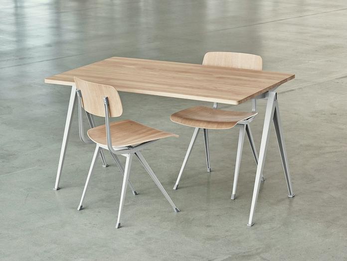 Hay Result Chair Oak Pyramid Desk Wim Rietveld Friso Kramer