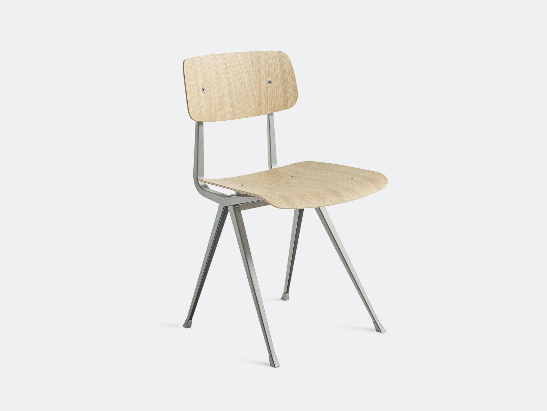 Hay Result Chair Oak Beige Legs Wim Rietveld Friso Kramer