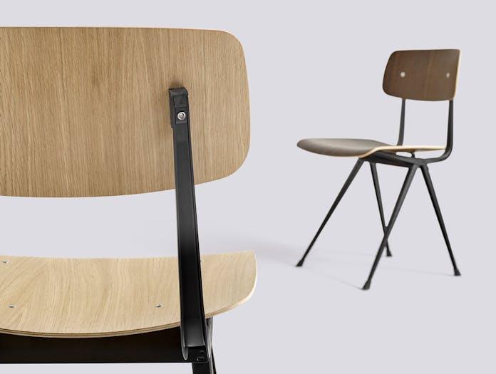 Hay Result Chair Oak Detail Wim Rietveld Friso Kramer