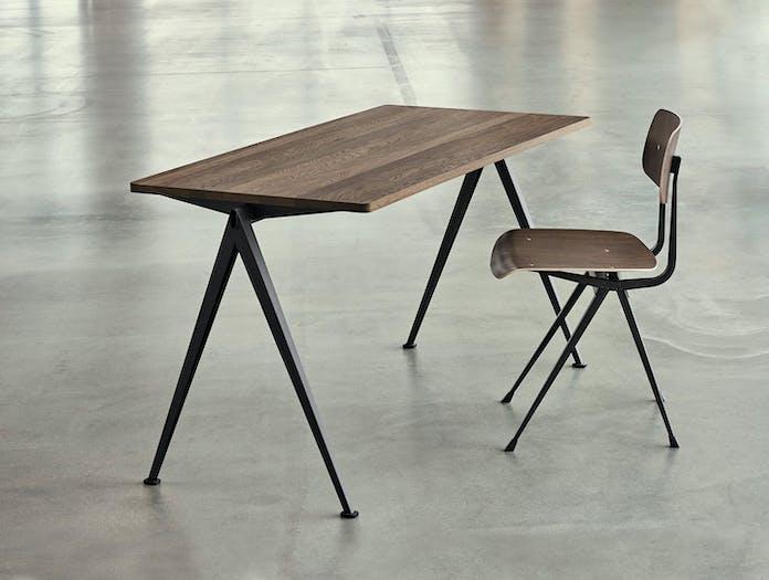 Hay Result Chair Smoked Oak Pyramid Desk Wim Rietveld Friso Kramer