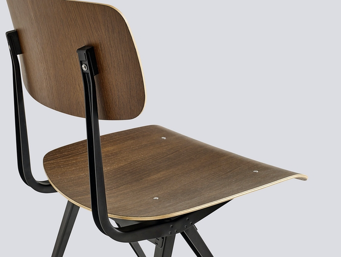 Hay Result Chair Smoked Oak Detail Wim Rietveld Friso Kramer