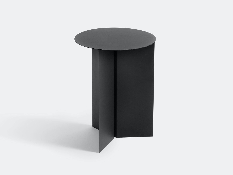 Hay Slit Table High Black