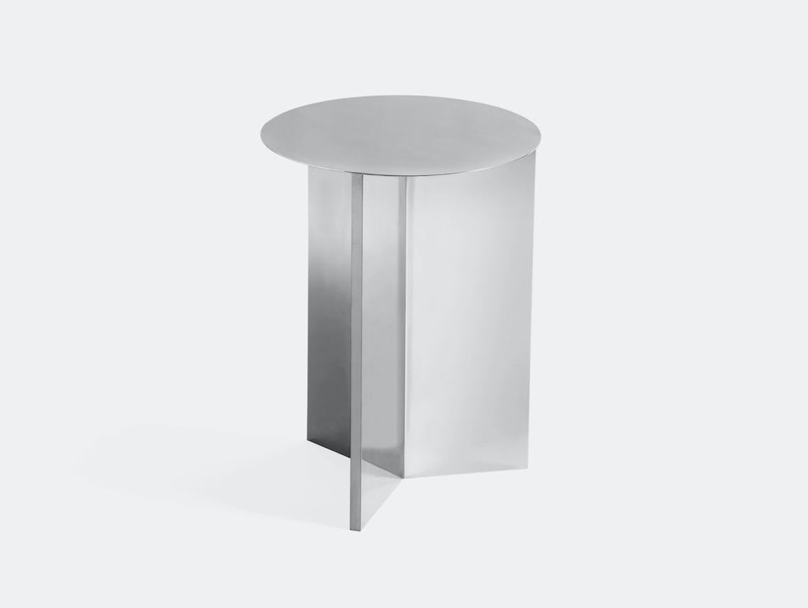 Hay Slit Table High Mirrored