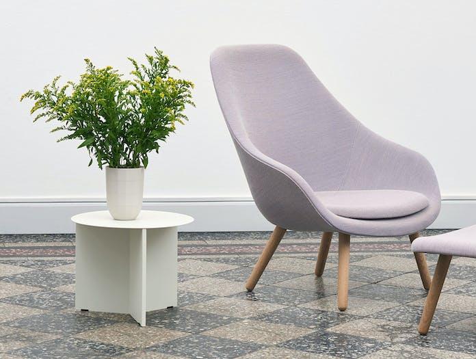 Hay Slit Table White Paper Porcelain Vase