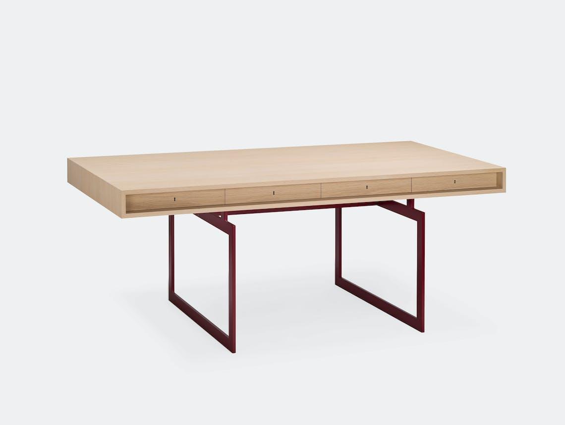 Karakter Office Desk Red Frame Bodil Kjaer