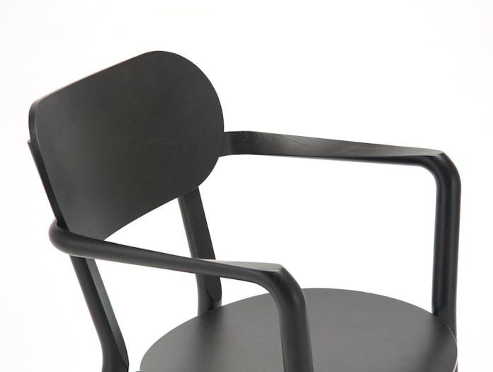 Karimoku Castor Armchair Plus Black Detail Big Game