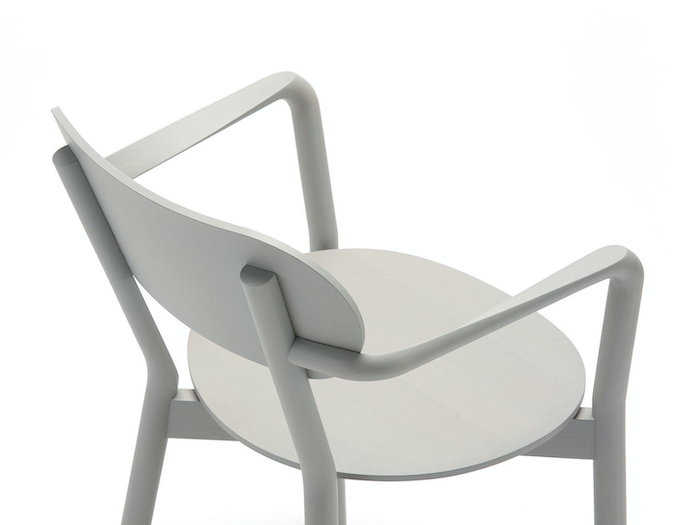 Karimoku Castor Armchair Plus Grey Detail Big Game