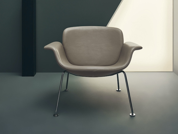 Knoll Kn04 Lounge Chair 2019 Front Piero Lissoni