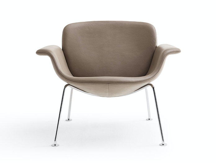 Knoll Kn04 Lounge Chair Front Piero Lissoni