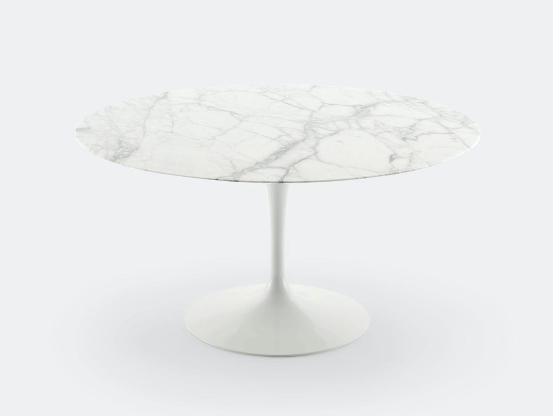 Knoll Saarinen Round Dining Table White Eero Saarinen